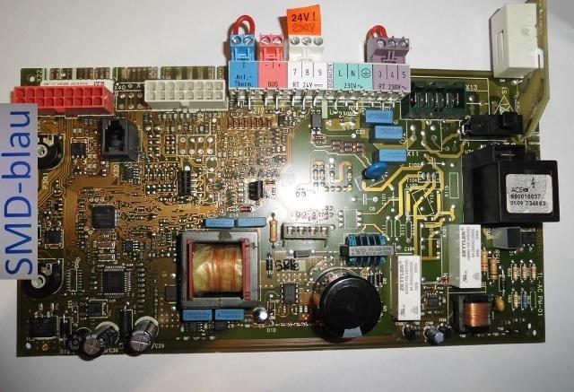 vaillant heizung leiterplatte platine reparatur vc de 126 3 5. Black Bedroom Furniture Sets. Home Design Ideas