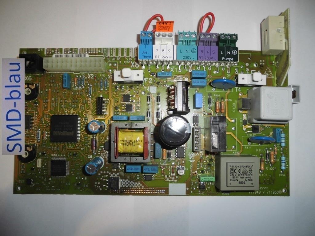 Vaillant Heizung - Leiterplatte / Platine Reparatur VC/VCW 196/246 ...